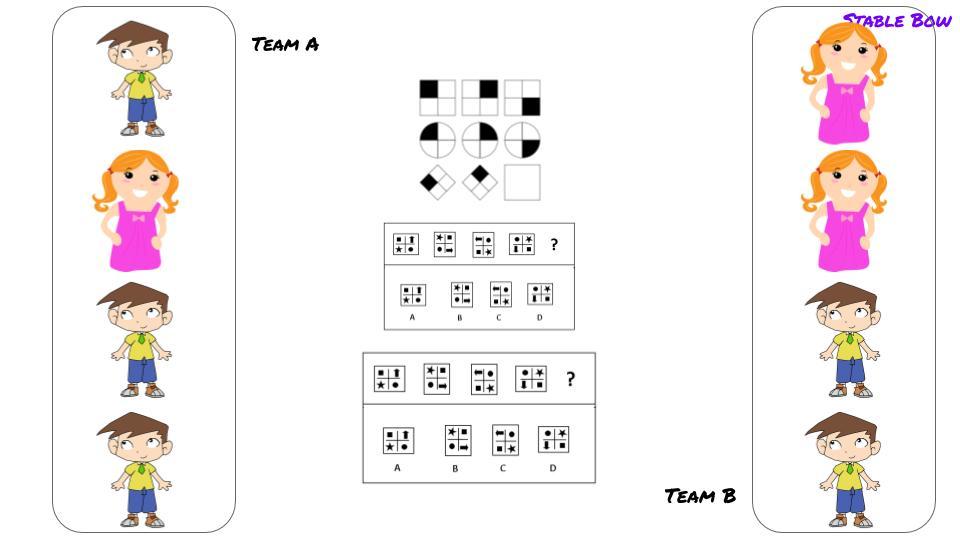 Two teams